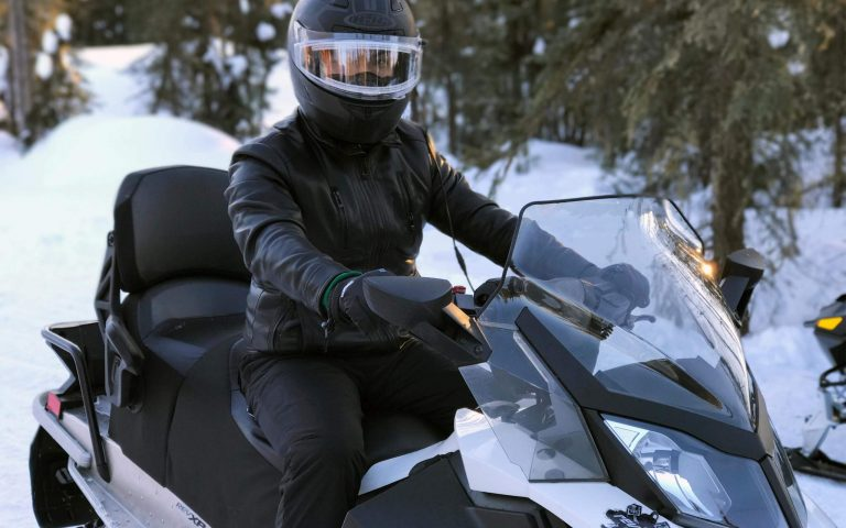 Mountain Snowmobile Tour
